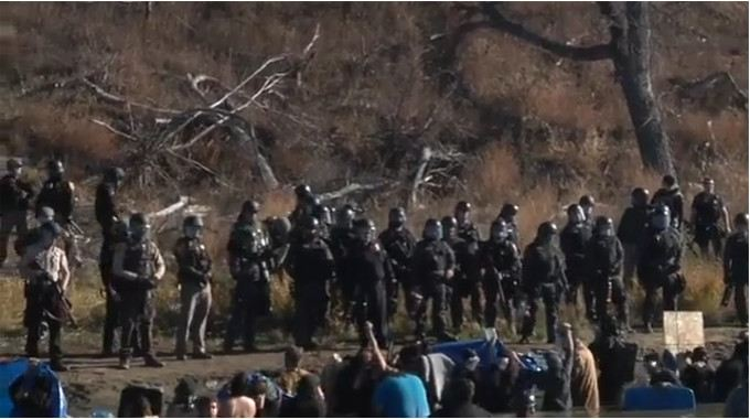 Breaking: North Dakota Police Terrorize Standing Rock Sioux as Millions Watch