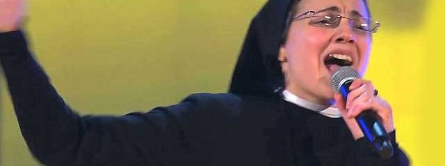 "MUST SEE: Singing Nun Is the Fastest Growing Internet Sensation Ever After Performing On Italian Version of ""The Voice"""
