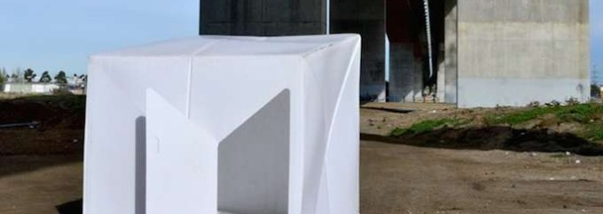 Recyclable, Compact Pop-Up Shelter for Disaster Relief