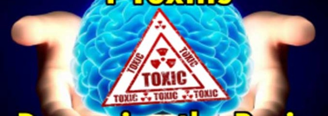 What Are the Top 4 Dangerous Toxins to the Brain?