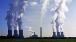 """Smokestacks (stock image). """"As well as combatting the toxicity and longevity of pollutants we're also confident that our findings can help to develop a better method for screening environmental or food samples,"""" one scientists noted."""