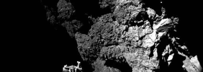 Comet Lander Re-establishes Radio Contact with Earth and Sends Data From Surface
