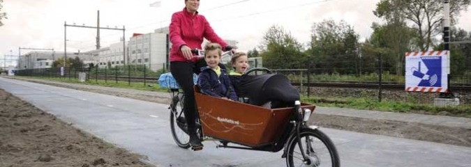 World's First Solar Bike Path Set to Open in the Netherlands