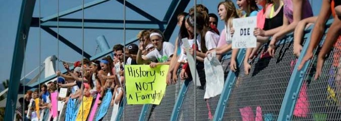 Colorado Students Employ Civil Disobedience the School Board Sought to Censor