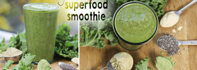 Green Superfood Smoothie Jam Packed With Health Benefits
