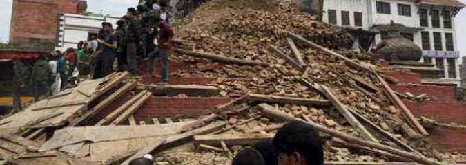 Disastrous M7.9 Earthquake In Nepal (Raw Video Footage)| S0 News April 25, 2015