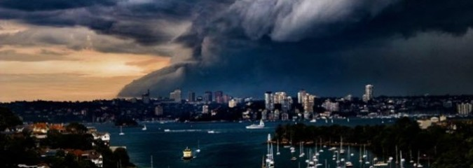 Sydney Lashed By Storm of the Century, Solar Flare, Earthquakes| S0 News April 21, 2015