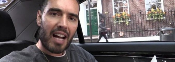 """Russell Brand: """"The Most Terrifying Thing You've Ever Heard"""""""