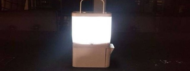 How This Lamp Runs For 8 hours On Salt Water