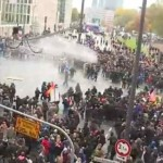 Thousands Took To The Streets As Far-Right As Well As Anti-Fascists Clash In Cologne, Germany