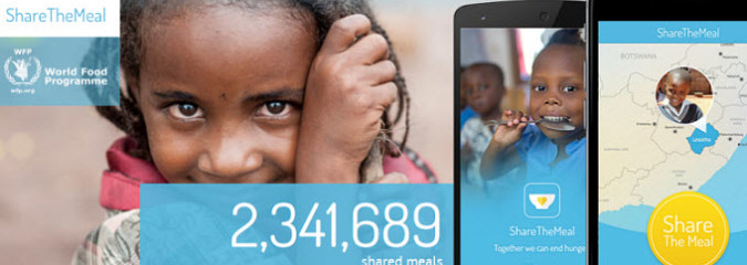 You Can Make a Difference: New App Lets You Provide Meals for Syrian Children