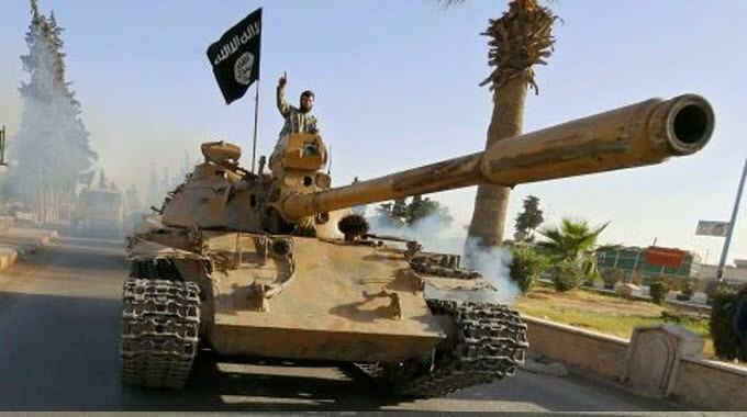 ISIS tank - who funded it