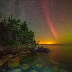 Astronomy Picture of the Day: Proton Arc over Lake Superior