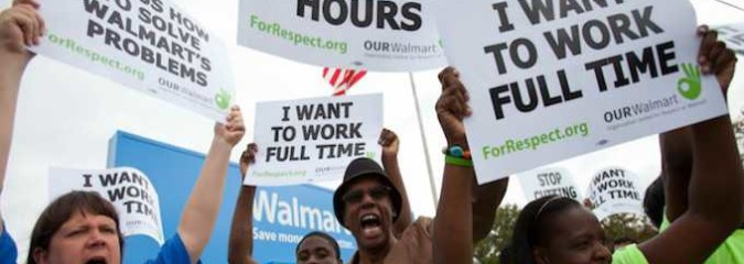 'Huge Victory': Walmart Illegally Fired Striking Workers, Judge Rules
