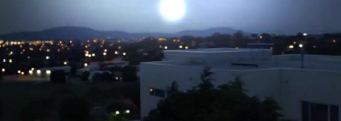 What Was That Huge, Mysterious 'Ball of Light' Over Australia's Capital?