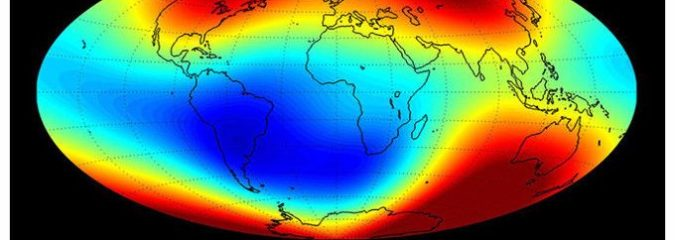 New Data Shows the Earth's Magnetic Field Is Weakening