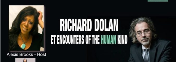 "CLN RADIO: Richard Dolan Discusses ET Encounters of the ""Human"" Kind"