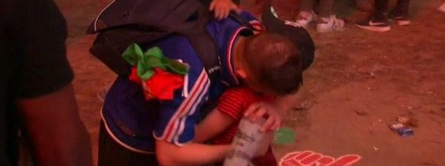 Portuguese Boy Consoles French Man After Devastating Loss, Inspires The Internet [Watch]