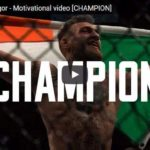 Morning Inspiration: Just Keep Believing In Yourself (Motivational Video with Conor McGregor)