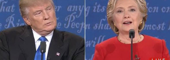 The First Clinton-Trump Debate in 3 Minutes