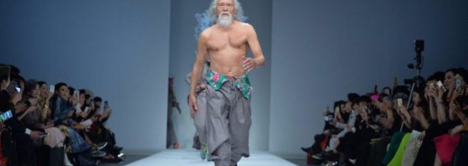 80-Year-Old Grandfather Slays 'Ageism' With Runway Debut In China