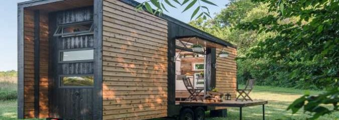 """This """"Alpha"""" Tiny House Will Change the Way You Look at Micro Homes"""