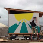Small Town In Oregon Donates Tiny Houses, Solar Panels, And Tons Of Food To Standing Rock