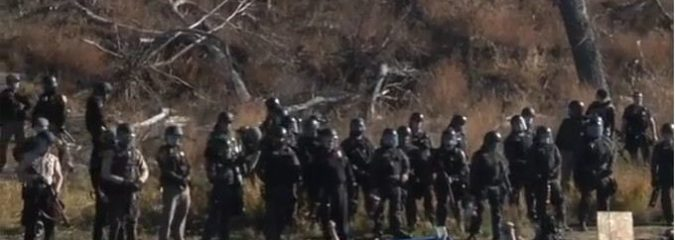 Film Director Documents Police Brutality Against Peaceful Protestors at Standing Rock