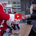 Grieving Man Dresses As Santa Claus And Hands Out Gifts To The Homeless