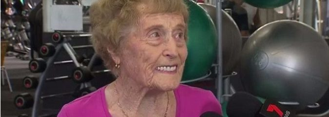 This 94-Year-Old 'Gym Rat' Is Inspiring The World With Her Passion For Exercise
