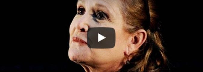 Morning Inspiration: How To Get Over Fear (Motivational Video with Carrie Fisher)