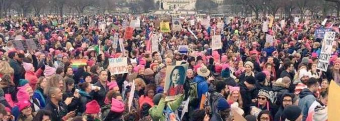 In Photos: Women's Marches on All Seven Continents Demand 'A Better Future'