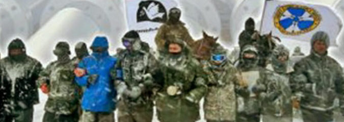 'Not On Our Watch' — Veterans Promise 'Boots On the Ground' To Stop DAPL
