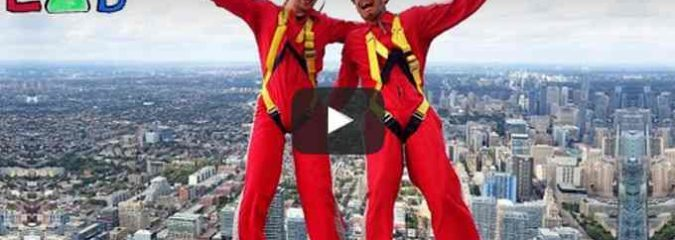 What If You Fell From 356 Meters? (Video)