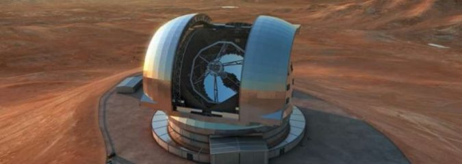 Construction Begins On the World's First Super Telescope