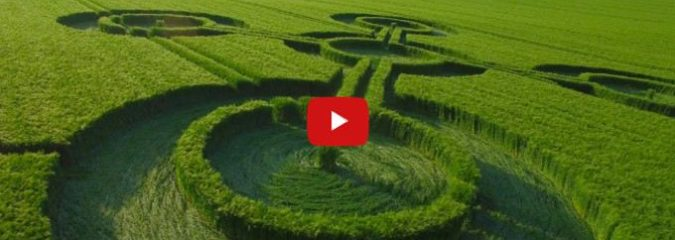 New Crop Circles Found in UK May Be Related to Upcoming Solar Eclipse (Drone Footage)