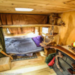 Wood Builder Converts Caravan Into Unique Tiny Home In Just 10 Days for $1000