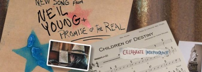 "Resist the Powers That Be: Neil Young Premieres Music Video For New Protest Song, ""Children Of Destiny"" [WATCH]"