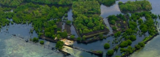 New Aerial Images Show Mysterious Lost City In The Middle Of The Pacific Ocean