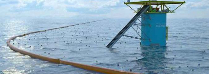 The Contraption That Will Clean Up The World's Oceans Set To Deploy 2018