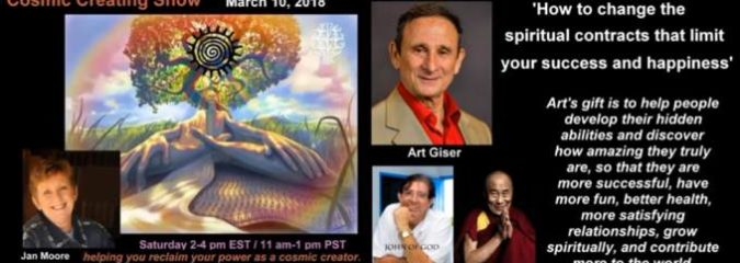 How to Change Your Spiritual Contracts With Art Giser [Video]