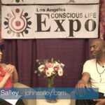 """Former NBA Great John Salley """"Dishes"""" with Alexis Brooks about the Vegan Life Path"""