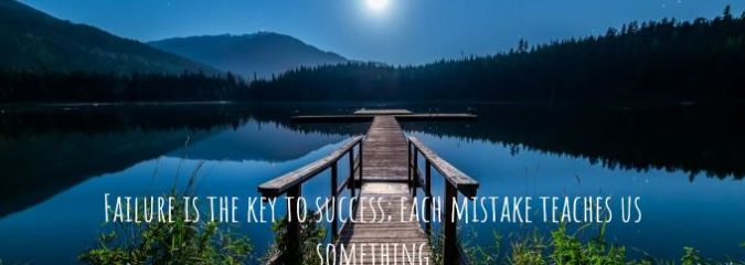 How to Use Failure to Strengthen Self-Belief